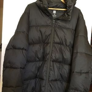 Woman's Plus Hooded Puffer Jacket